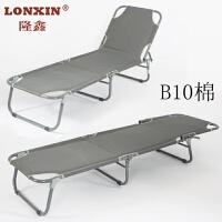折叠陪护床单人床医院临时床折叠单人拆叠床便携式 B10三折床 三折床 棉
