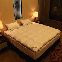 五星级酒店加厚羽绒床垫1.8m2米双人冬季保暖铺床上垫被超软床褥