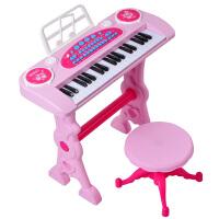 玩具琴3岁 儿童电子琴带麦克风手拍鼓宝宝小钢琴宝宝