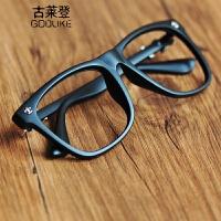 2018新款新款韩版眼镜框 无镜片潮人男女复古眼镜架眼睛平光镜 黑框架眼镜同款