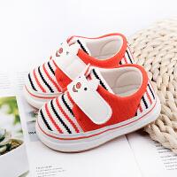 6-12个月0-1岁男女宝宝婴儿夏季单鞋春秋软底棉布鞋子学步鞋