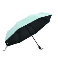 大晴雨伞防晒伞女遮阳伞黑胶太阳伞三折两用伞