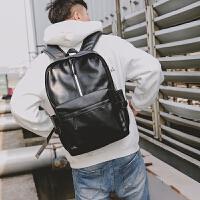青年旅行背包户外双肩包青年学生书包电脑包街头皮质韩版背包2018
