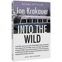 英文原版 荒野生存:阿拉斯加之死 Into the Wild 肖恩潘电影原著小说 Jon Krakauer 成名作 全英