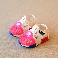 夏季网鞋儿童鞋男童运动凉鞋女童透气宝宝凉鞋婴儿学步鞋1-2-3岁