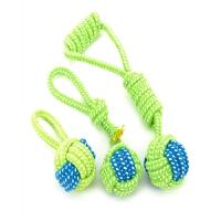 【支持礼品卡】狗狗玩具狗咬绳棉绳磨牙绳结玩具球金毛泰迪博美幼犬小型犬玩具hv3