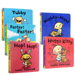 英文原版 Leslie Patricelli 经典作品 Fa La La Big Little Higher! Hig