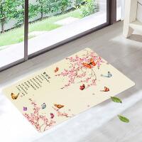 DIY印花卧室门口厨房脚垫卫浴防滑垫客厅地垫来图