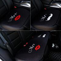 汽车头枕一对枕腰靠套装记忆棉卡通可爱情侣车上内抱枕