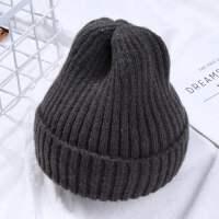 宝宝帽子秋冬季0-3个月男女儿童围脖款毛线帽1-4岁婴儿帽子潮6-12 均码