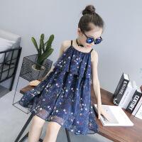 夏装新款连衣裙韩版儿童中大童吊带裙子洋气公主裙夏季潮