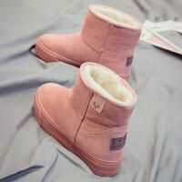 加绒加厚雪地棉鞋女保暖韩版百搭厚底冬季潮雪地靴