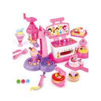 迪士尼橡皮泥模具工具套装3d彩泥冰淇淋机儿童雪糕机女孩六一礼物