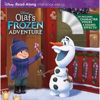 Olaf's Frozen Adventure: Read-Along Storybook 冰雪奇缘:雪宝的历险 迪士