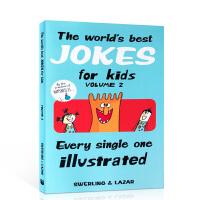 【全店300减100】英文原版 The World's Best Jokes for Kids Vol 给孩子的笑话绘本