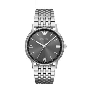 Armani阿玛尼经典石英手表 钢带男士石英表 简约时尚腕表AR11068