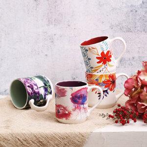 爱屋格林创意马克杯大容量陶瓷杯子早餐咖啡杯办公室储物礼盒装