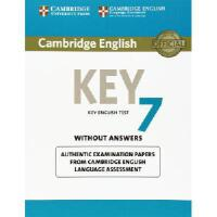 【预订】Cambridge English Key 7 Student's Book Without Answers: