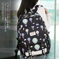 新款双肩包女韩版电脑包潮高中初中学生书包大容量旅行包