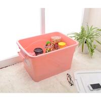 【】收纳箱 居家塑料整理箱 玩具衣物整理箱 塑料收纳 图片色
