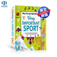 英文原版 DK 我的重要运动百科全书 My Encyclopedia of Very Important Sport D