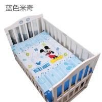 婴幼儿学生垫褥子榻榻米垫子床褥婴儿童棉垫床垫幼儿园学校 柠檬黄 维尼小熊