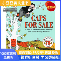 #Caps for Sale 卖帽子 英文原版绘本韵文 吴敏兰书单 小贩和猴子的恶作剧故事 美国Top 100百本必读