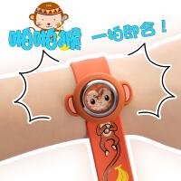 拍拍表儿童手表男孩玩具幼儿12生肖防水可爱啪啪圈