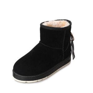 WARORWAR 2019新品YM159-E971冬季休闲平底鞋舒适女鞋潮流时尚潮鞋百搭潮牌雪地靴