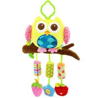 新生婴儿宝宝床铃0-1岁 毛绒床绕推车挂件3-6-12个月安抚玩具 抖音 长颈鹿 【摇铃】