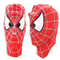 万圣节儿童节cosplay动漫面具蜘蛛侠头罩头套面罩眼罩服装