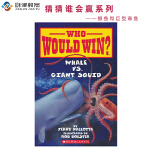 Scholastic Who Would Win Whale VS Giant Squid 猜猜谁会赢 鲸鱼和巨型章鱼