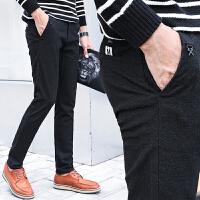 男士休闲裤2018新款秋季青年男裤秋款裤子韩版帅气