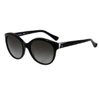 卡尔文・克莱恩(Calvin Klein )太阳镜女圆脸大框时尚黑色镜框黑色镜片墨镜 CK4261S