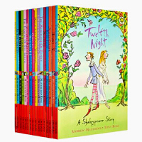 英文原版 莎士比亚全集16册套装 The Shakespeare Childrens Stories 儿童青少年经典故事