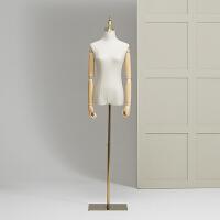 家居生活用品模特服装女韩版模特女模特橱窗模特道具人台服装店婚纱模特架 标配 +手