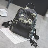 韩版小学生男童背包休闲旅游迷彩双肩包潮时尚幼儿园儿童防水书包