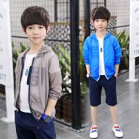 男童夏装防晒衣新款韩版夏季防晒服儿童中大童薄款透气外套潮