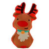 新款圣诞抱枕挂件送朋友节日礼物儿童毛绒玩具靠垫抱枕