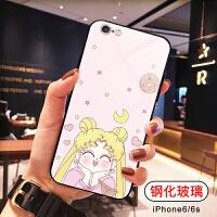 美少女手机壳苹果x美少女战士iPhone XS Max玻璃6s手机壳iPhone8plus日韩7p卡