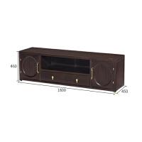 新中式实木电视柜简约客厅家具样板房落地柜装饰柜立柜储物柜