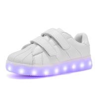 №【2019新款】2019新款儿童穿的发光鞋USB充电夜光鞋七彩闪光鞋led男女带灯童鞋