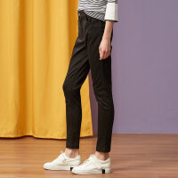 【全场2件2.5折,到手价:43.8】美特斯邦威牛仔裤女春装新款文艺紧身显瘦打底长裤潮商场款