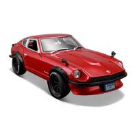 美驰图1:18日产仿真原厂汽车尼桑240z改装跑车模型汽车车模型摆件 1971 Datsun 恶魔之尼桑240Z