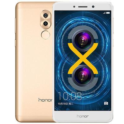 华为(Huawei)honor/荣耀畅玩6X(双镜头 八核 5.5英寸)全网通 4G智能手机 华为畅玩6X支持礼品卡,赠送指环支架,顺丰配送