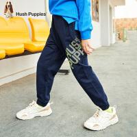 【秒杀价:79元】暇步士童装男童裤子春装新款儿童休闲裤运动裤炫酷中大童长裤