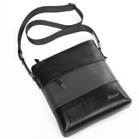 新款商务男包单肩包牛皮休闲时尚斜跨背包潮男士小包包815-3