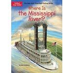 【现货】英文原版 Where Is the Mississippi River? 密西西比河在哪儿 who was/i
