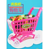 儿童购物车女孩超市宝宝推车小孩手推车切水果蔬菜切切乐男孩玩具