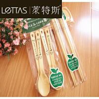 W 儿童餐具玉米淀粉 勺子 勺 筷子